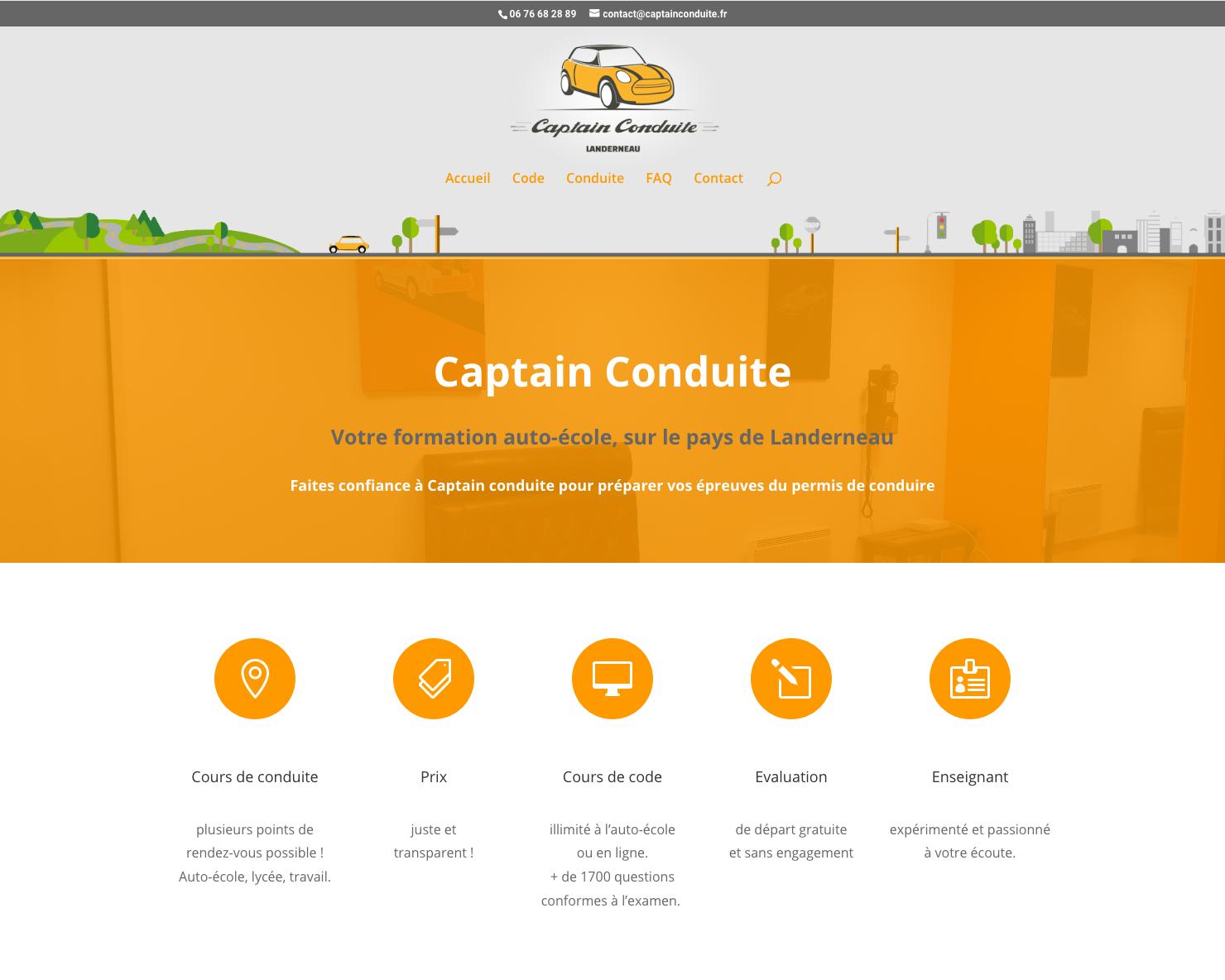 Captain Conduite