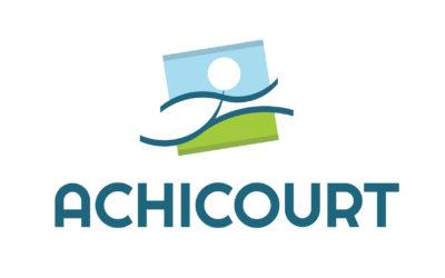 Achicourt – réalisation du logo