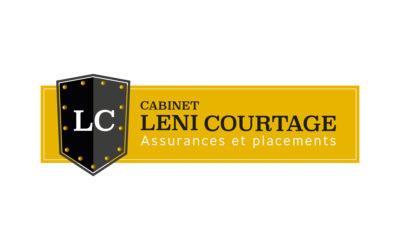 Création du logo pour le cabinet Leni Courtage