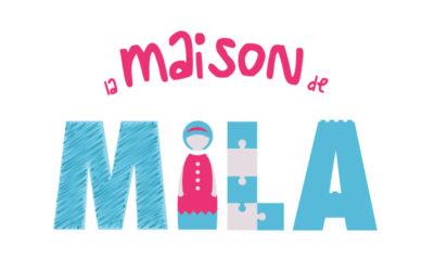 """Réalisation du logo """"La Maison de Mila"""""""