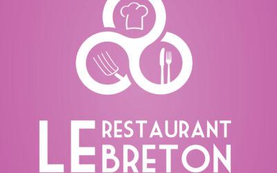 """Réalisation du logo """"Le Restaurant Breton"""""""